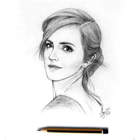 emma watson drawing emma watson pencil drawing potret drawing emmawatson