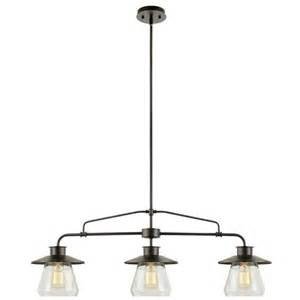 3 Light Kitchen Island Pendant Globe Electric Company Vintage 3 Light Kitchen Island Pendant Reviews Wayfair