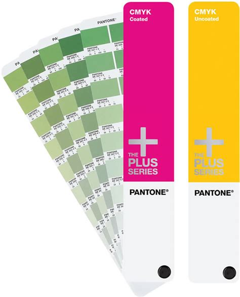 what is pantone pantone cmyk coated uncoated process guide book set