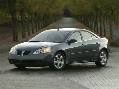 2006 Pontiac G6 Gt Recalls by 550 000 Pontiac G6 Models Nhtsa Probation