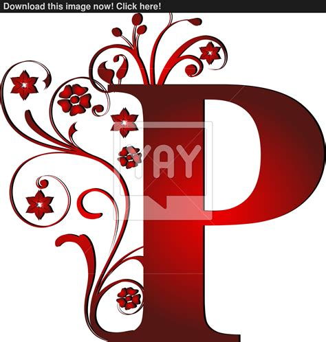 Letter P Images capital letter p vector yayimages
