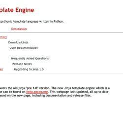jinja template jinja template engine