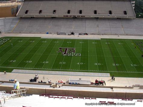 kyle field student section seating kyle field section 307 seat views seatscore rateyourseats