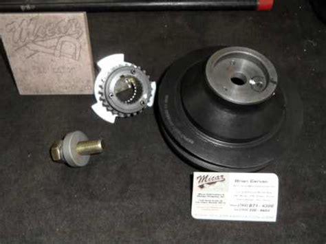 kia sorento crank gear harmonic pulley fix ii