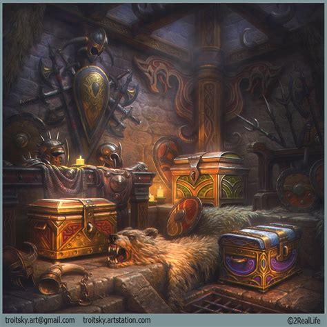 treasure rooms wip treasure room polycount