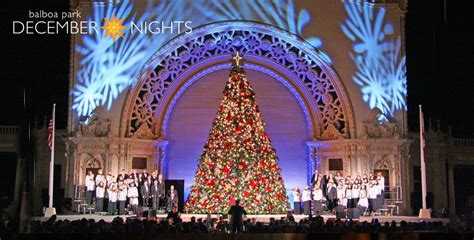 balboa park tree lighting 2017 top 10 things to do in san diego this december la jolla