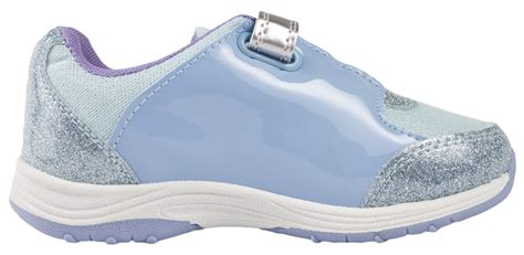 glitter shoes size 13 frozen elsa olaf glitter trainers character sports