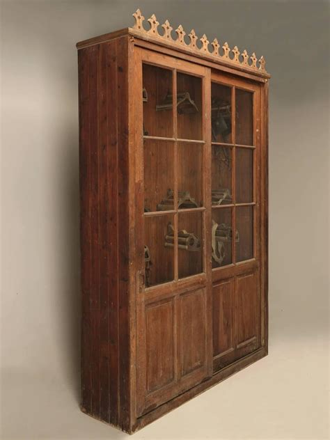 Tack Armoire by Tack Cabinet Or Potential Bookcase For Sale At 1stdibs