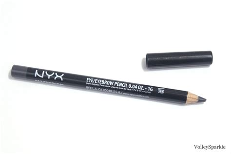 Nyx Slim Eye Pencil nyx charcoal slim eye pencil review swatches