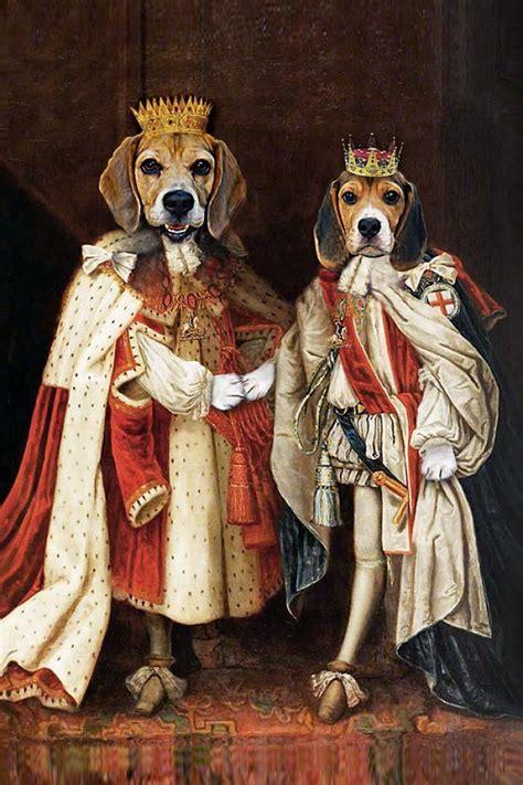 king james king charles  regal beagle brothers