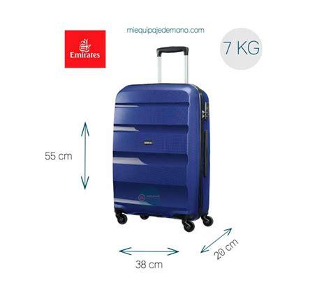cual es el equipaje de mano permitido en fly emirates