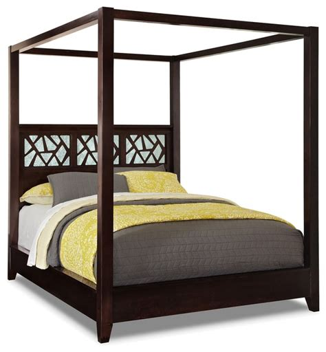 contemporary canopy bed espirit queen canopy bed contemporary canopy beds by