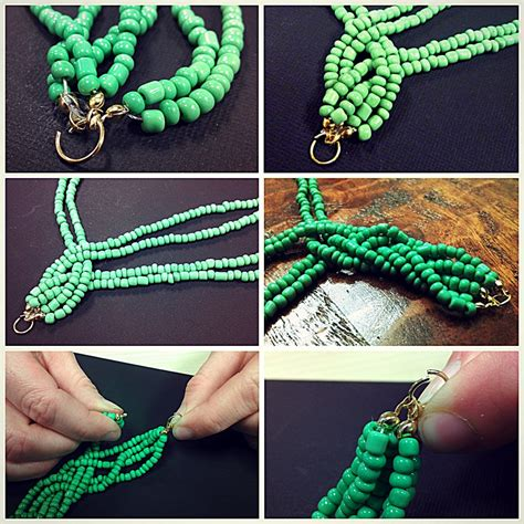 seed bead tutorials 15 diy seed bead necklace patterns guide patterns