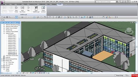 revit walkthrough tutorial video cadclip revit architecture 2010 walkthrough up stairs