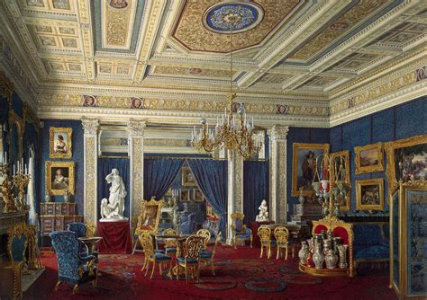 room place the of russian painting edward petrovich hau