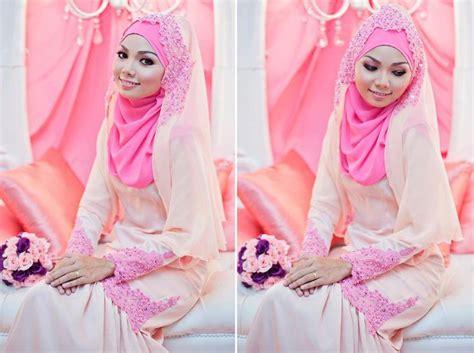 tutorial veil kahwin pin by atiqah maksom on baju tunang nikah pinterest pink