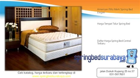 Matras Central Terbaru bed size