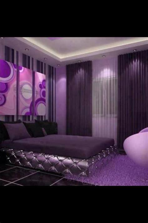 decoracion de habitaciones en color morado  curso de