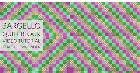 pattern video download video tutorial quick and easy bargello quilt block sewn up