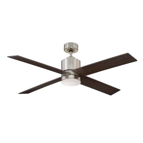 satin nickel ceiling fan filament design 52 in satin nickel ceiling fan ect