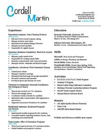 Resume Sles For Be College Students Student Resume Gra617