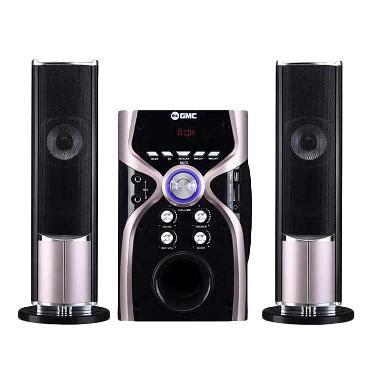 Garansi Speaker Aktif Bluetooth Slec Sp100 1 jual gmc 887g bluetooth multimedia speaker aktif silver metalic harga kualitas