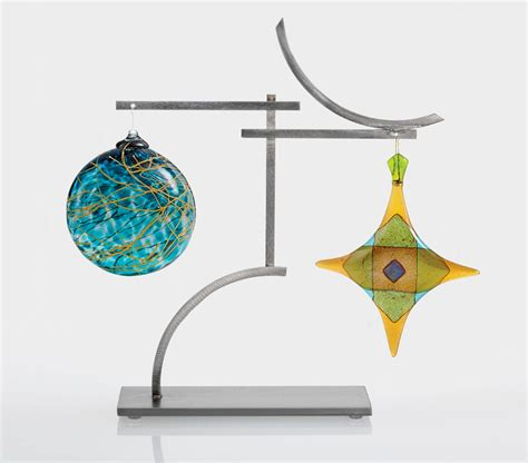 Display Stand With Hooks by Intersection Ornament Holder By Ken Girardini And Julie