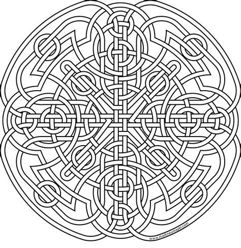 Celtic Knot Coloring Pages To Download And Print For Free Celtic Knot Coloring Pages
