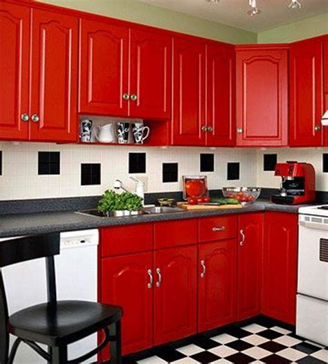 painting kitchen cabinets red painted red kitchen cabinets red kitchen cabinets for