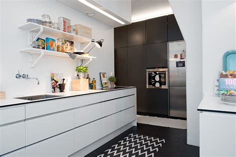 swedish apartment boasts exciting mix of old and new minimalist kitchen ideas interior design ideas