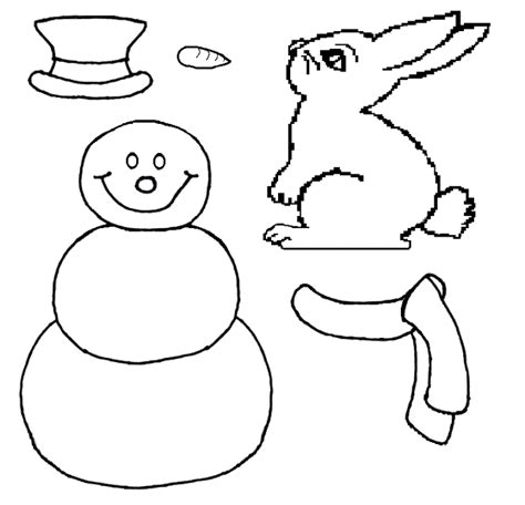 snowman cut out template snowman scarf template www imgkid the image kid