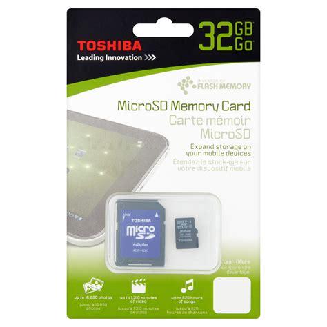toshiba gb microsd memory card walmartcom