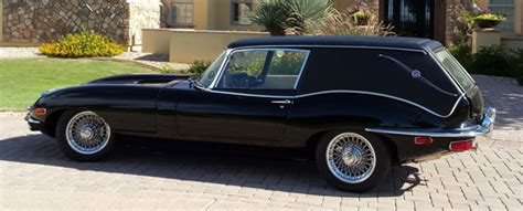 a real jaguar hearse from harold and maude a