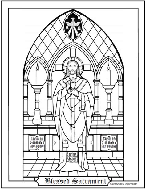 catholic coloring pages eucharist catholic sacraments coloring pages