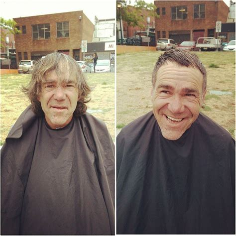 homeless haircuts before and after these before and after haircuts for the homeless
