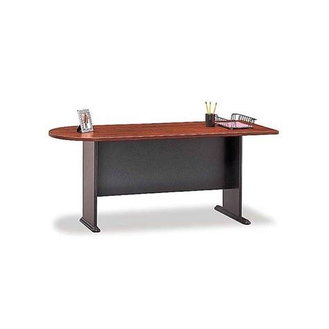 Bush Business Series A Hansen Cherry Left L Shaped Desk L Shaped Desk Cherry