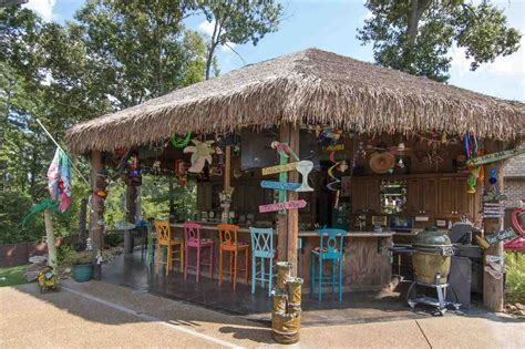 tiki bar backyard we can t come up with one good reason why you wouldn t
