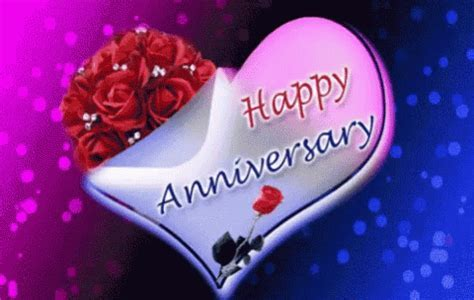 Happy Anniversary Roses For You GIF   HappyAnniversary