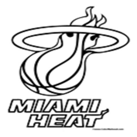 free coloring pages miami heat coloring pages