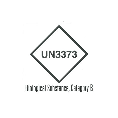 printable un3373 label un3373 packaging for category b substances