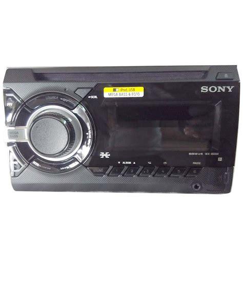 sony car audio player wx ui buy sony car audio player
