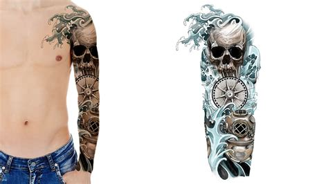 unique sleeve tattoo designs custom sleeve designs custom design