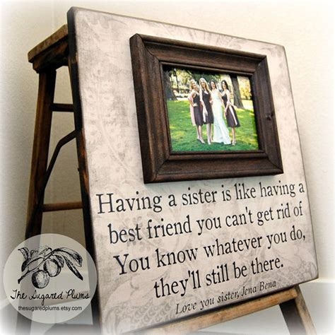 Bridesmaid Gift Best Friend Sister Maid of Honor