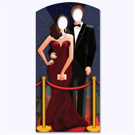 Stand up Red Carpet/ Hollywood Couple Stand In 1.86m   Peeks