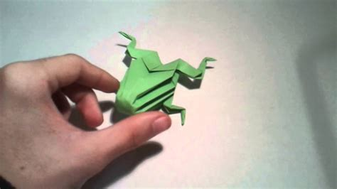 How To Make A 3d Frog Out Of Paper - origami 3d frog