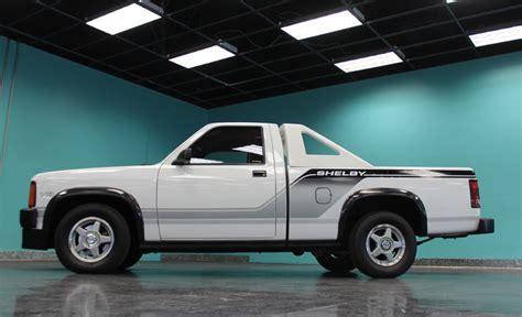 Dodge Shelby Dakota by Dodge Shelby Dakota Driven By Carroll Shelby Heads To Auction