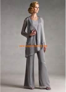 chiffon abiti mamma sposa con pantaloni amp giacca
