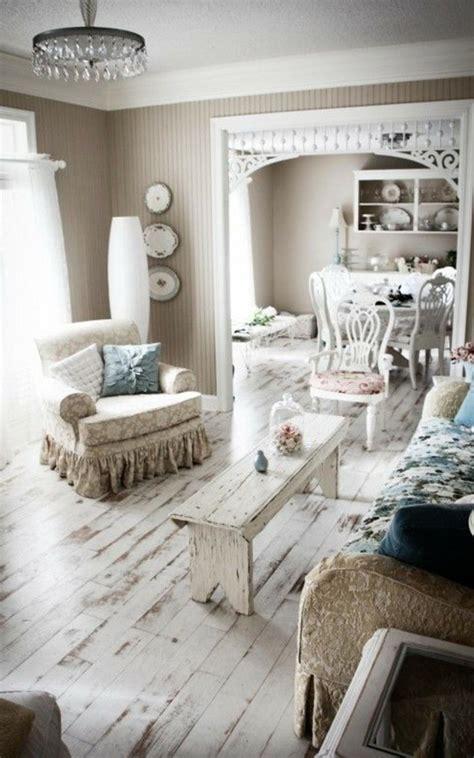 wohnzimmer vintage einrichten einrichtungsideen vintage provence und shabby chic im