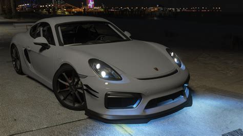 Porsche Cayman Tuning by Porsche Cayman Gt4 2016 Tuning Gta5 Mods