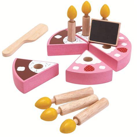 Birthday Cake Set by Plan Toys Birthday Cake Set